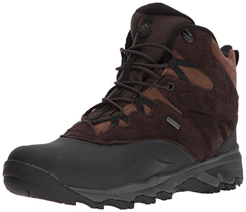Merrell Men''s Thermo Shiver 6' Waterproof High Rise Hiking Boots,...