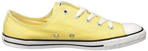Converse 551513 Chuck Taylor All Star Dainty baskets femme (jaune) Jaune - jaune 09eHvz