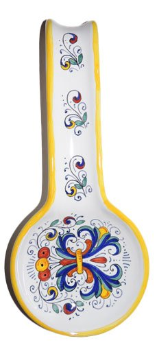 Italian Ceramic Spoonrest Ricco - Sberna by Made In Italy