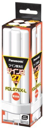 27 Panasonic Twin Shape Twin Fluorescent Light Bulb Color Fdl27exl 2 Palook - Panasonic Fluorescent Lamp