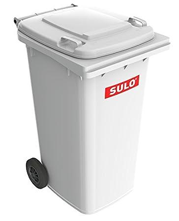Sulo 240l Mgb Mülltonne Weiß 2 Rad Behälter Amazonde Baumarkt