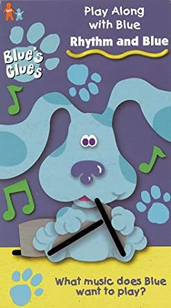 Rhythm and Blue Blue's Clues: Play Along With BlueVHS