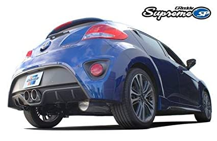 Greddy Supreme SP Exhaust System for 2011-16 Hyundai Veloster Turbo