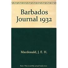 Barbados Journal 1932