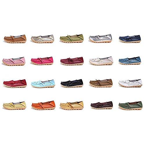 DULEE - Sandalias deportivas de Piel para mujer color 11