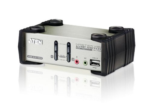 (Aten Corp 2-Port USB KVMP with Audio)