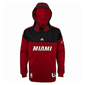 Miami Heat Adidas Youth On-Court Performance Shooter Hoodie