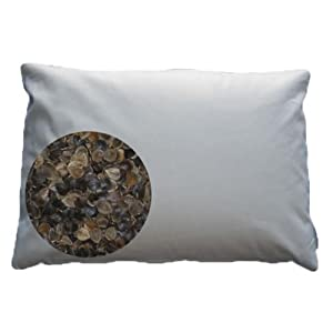 Beans 72 Organic Buckwheat Pillow-King Size
