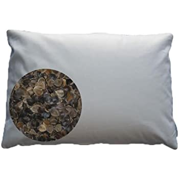 Beans72 Organic Buckwheat Pillow - Travel/ Child Size (11 inches x 16 inches)