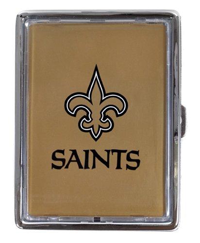 (NFL Team Cigarette, Money or Card Holder (Black,)