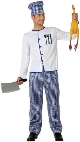 Atosa - Disfraz de cocinero para adulto (111-15797): Amazon.es ...