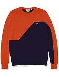 Men's Sport Colorblock Crewneck Golf Sweater