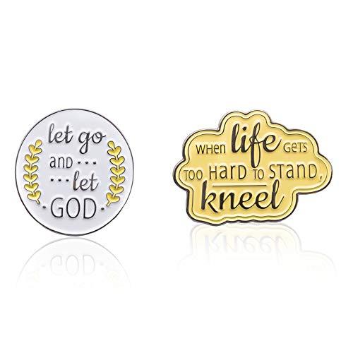 Fun Blossom Inspirational Religious Pins ()