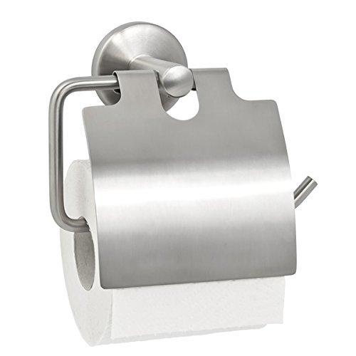 bremermann® Bad-Serie PIAZZA - Toilettenpapierhalter mit Deckel, matt