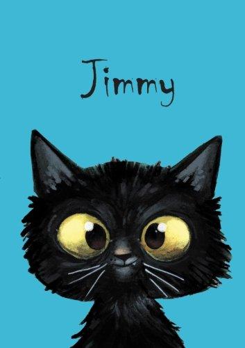 Jimmy: Jimmy - Katzen - Malbuch / Notizbuch / Tagebuch: A5 - blanko (German Edition) (Jimmy Katze)