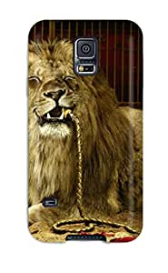High-end Case Cover Protector For Galaxy S5(lion's Revenge)