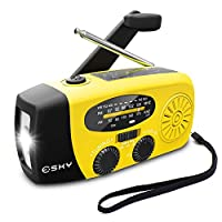Esky Upgrade Emergency Radios Hand Crank...