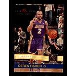 68da83eccf6 2010 Donruss   204 Derek Fisher Los Angeles Lakers (Basketball Card) Dean s.