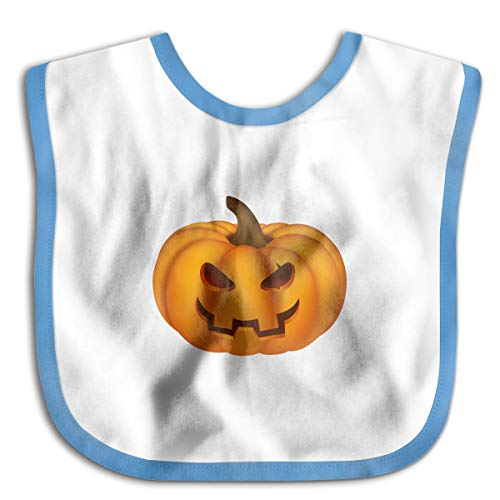 Pumpkin Funny Baby Bibs Burp Infant Cloths Drool Toddler Teething Soft Absorbent