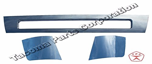 Volvo VNL Chrome Trim Set - Center and Corner Bumper + Chromes + (Volvo Bumper Trim)