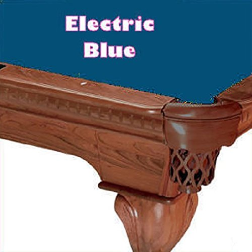 - 8' Simonis 760 Electric Blue Billiard Pool Table Cloth Felt