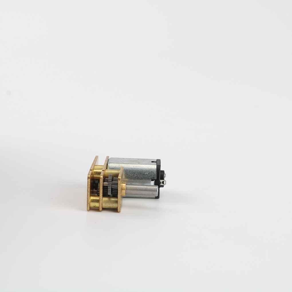 Bobury 3V 10x24mm N20 Renvers/é Motor/éducteur H/ôtel Door Lock Jouets Mod/èles de Bricolage Robot Mini Metal Gear Motor/éducteur
