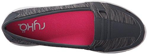 Zapatillas la Negro moda mujer de Ryka Gris Jenny zFX8gg