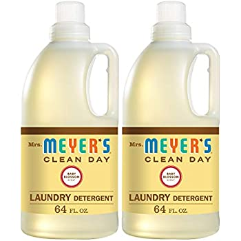 Amazon Com Mrs Meyer S Laundry Detergent Baby Blossom
