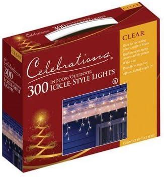 Celebrations Mini luces de hielo 300 bombillas
