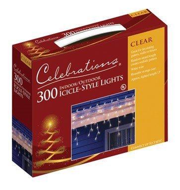 Clear Bulb Icicle - 8