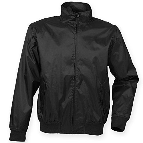 Henbury Mens Harrington Showerproof & Breathable Jacket (M) ()