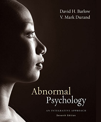Abnormal Psychology: An Integrative Approach, 7th Edition (MindTap Course List)