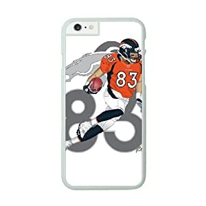 NFL Case Cover For HTC One M7 White Cell Phone Case Denver Broncos QNXTWKHE1034 NFL Clear Phone