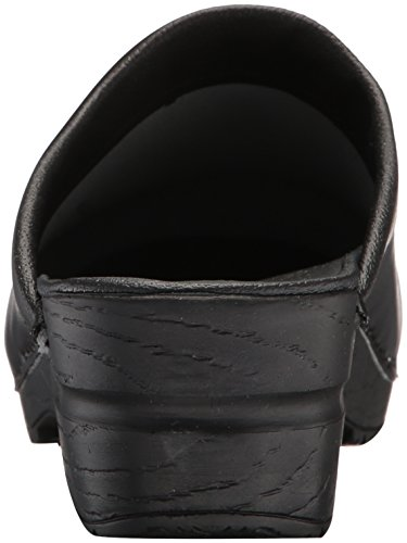 Open Sonja Women's Black PU Sanita Clog tY1qx
