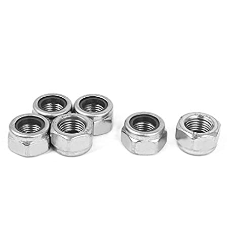 The Hillman Group 44896 M10-1.00 Fine Pitch Nylon Insert Stop Nut 15-Pack