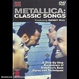 Metallica: Classic Songs - Bass Guitar Legendary Licks Dvd
