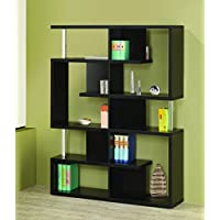 Coaster Bookshelf, Black