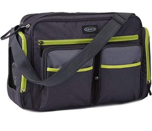 Graco Places and Spaces Smart Organizer System Tote Duffel Diaper Bag