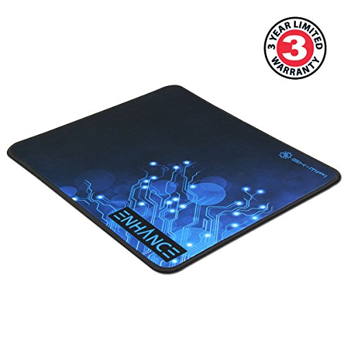 41K1Ovtdk9L - Large Gaming Mouse Pad XL by ENHANCE - Extended Mouse Mat , Anti-Fray Stitching , Non-Slip Rubber Base , High Precision Tracking for PUBG , League of Legends , & More