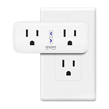 Smart Plug, TanTan [2 in 1] Space-Saving WiFi Mini Smart Outlet with