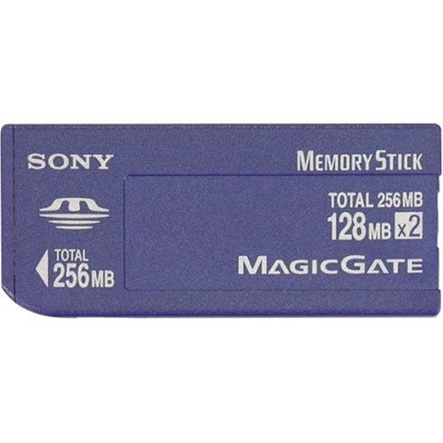 Sony 128 MB X2 Memory Stick Select Media (MSH-128S2) by Sony