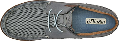 Olukai Mano Chaussures Pour Hommes Charcoal / Toffee