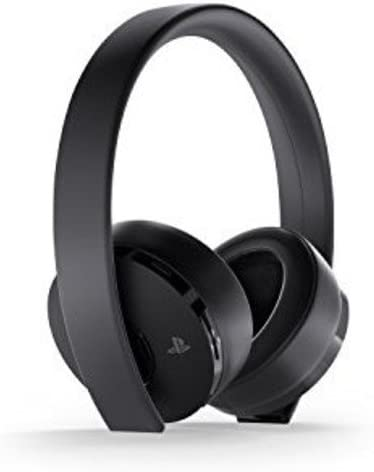Amazon Com Playstation Gold Wireless Headset Playstation 4 Sony