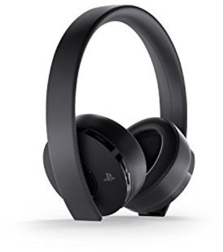 - PlayStation Gold Wireless Headset - PlayStation 4