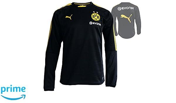 Puma Borussia Dortmund Sudadera de entrenamiento negro BVB 09 Camiseta de Entrenamiento Fútbol Jersey, talla.xs: Amazon.es: Deportes y aire libre