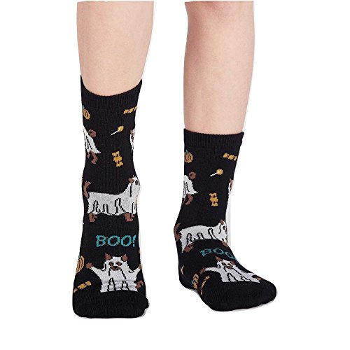 Sock It to Me, Trick or Treat? Youth Crew Socks, Halloween Socks