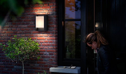 Philips mygarden arbour led outdoor wall light w integrated