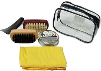 Dasco CAKISK - Set de limpieza para zapatos, color plateado
