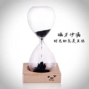 Awaglass Hand-blown Timer Magnet Hourglass / Magnetic Hourglass