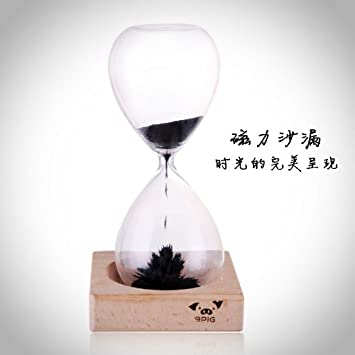 c617f54c14fde Buy Awaglass Hand-blown Timer Magnet Hourglass   Magnetic Hourglass Online  at Low Prices in India - Amazon.in